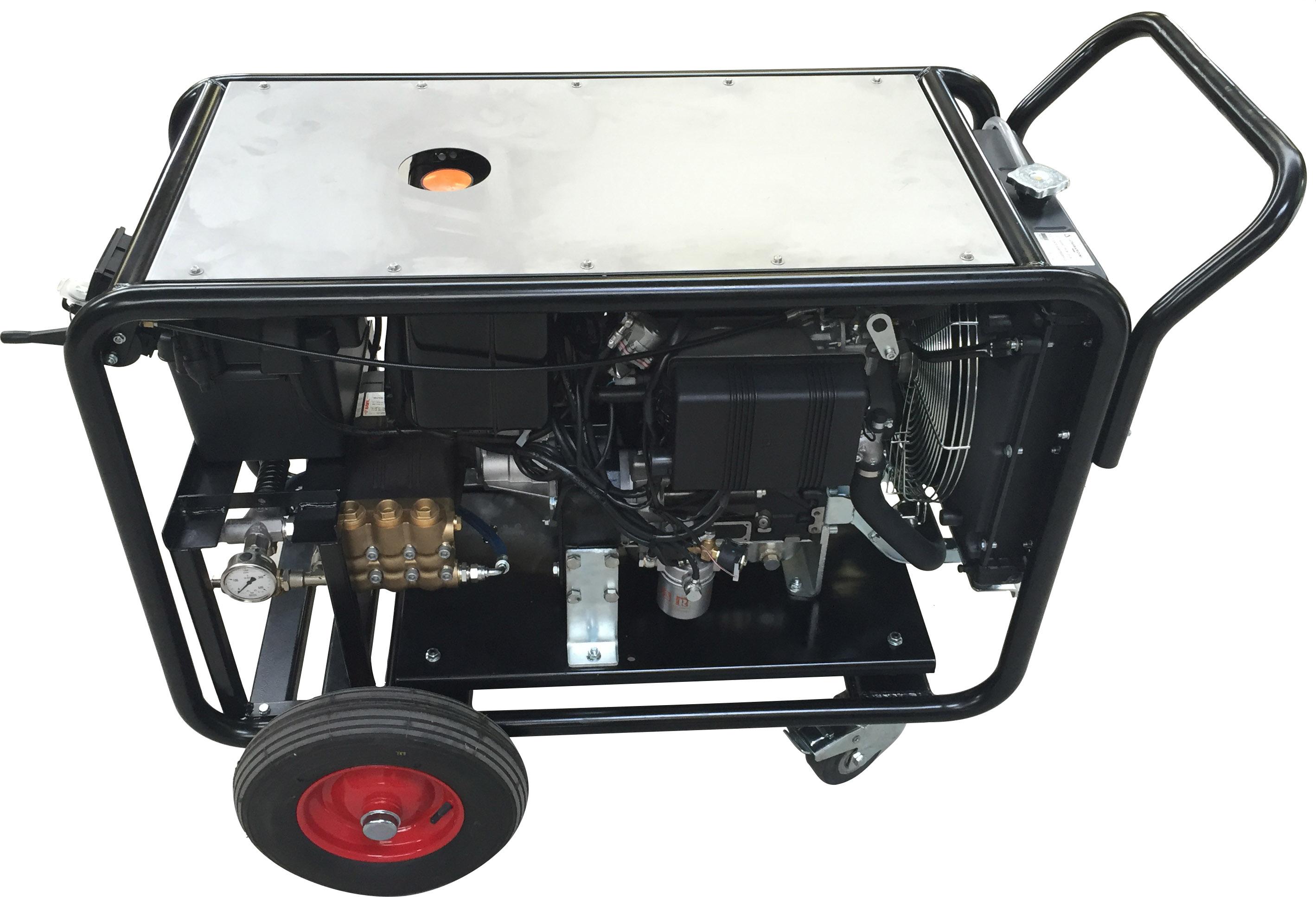 Høytrykksspyler Diesel2