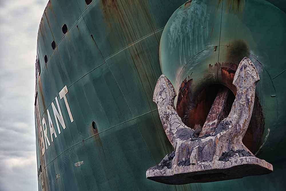 Høytrykksspyler skip